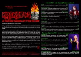 Krakatoa Menu 2015 front